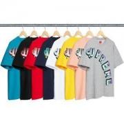 格好良い人気定番 シュプリーム SUPREME  新しいスタイル18SS Gradient Arc Top  半袖Tシャツ 多色可選