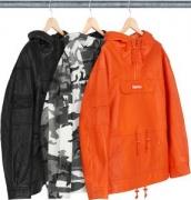 3色選択可 パーカー キレイ価格セール SUPREME シュプリーム NEWトップス Supreme FW18 Leather Anorak