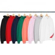 注目のポイント  多色選択可 18 Corner Label Hooded Sweatshirt パーカー 輝く高級感満点