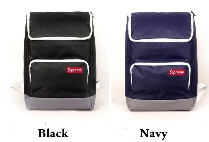 驚きの破格値最新作 supreme 偽物 通販 リュック 黒 ネイビー レッド 紫 4色 シュプリーム バックパック.