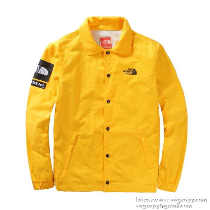 SUPREME シュプリーム ×the north face 18ss packable coaches jaket コーチジャケット4色選択.