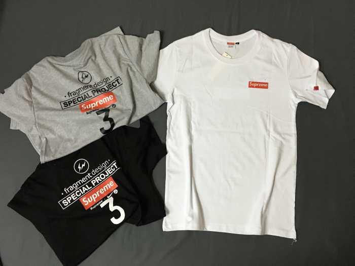 シュプリーム x ナイキ nike x supreme tシャツ ボックスロゴ メンズ ブラック、グレー、ホワイト3色選択.