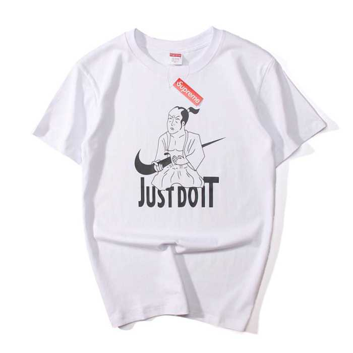 シュプリーム ナイキ tシャツ supreme x nike ブラック、ホワイト2色選択 コットン ショートスリーブ.
