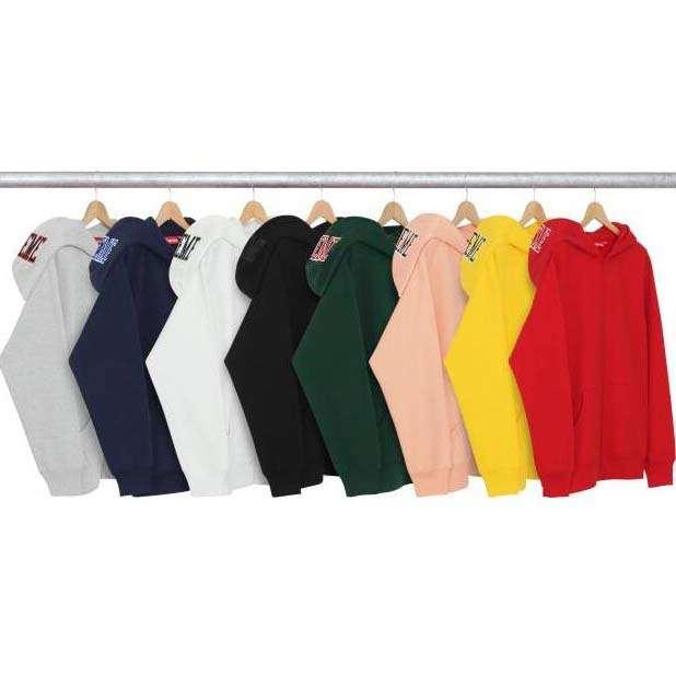 シュプリーム supreme パーカー サイズ感 男女兼用 コットン生地 グレー、ブラック、グリーン3色選択.