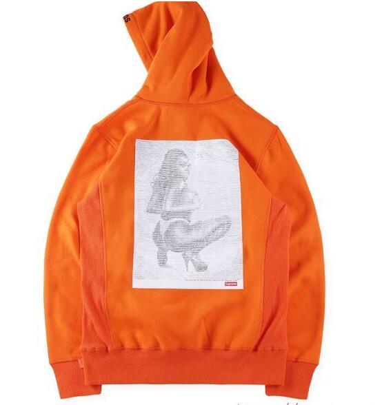 シュプリーム パーカー 偽 supreme digi hooded sweatshirt グレー、橙色、ピンク3色選択 コットン生地.