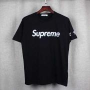 SUPREME シュプリーム Tシャツ 2017 ロゴ 半袖ブラック コットン クルーネック スタープリント メンズ 春夏ファッション