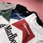 シュプリーム アンダーカバー SUPREME UNDERCOVER tシャツ 半袖 コットン marlboro マルボロ ブラック ホワイト グレー
