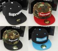 オシャレ シュプリーム キャップ ニューエラ ボックスロゴキャップ SUPREME CAP 偽物 コットン 帽子 迷彩 ブラック 多色可選
