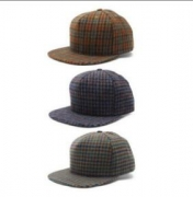 大人カジュアルシュプリーム2017AWコットンキャップSUPREMEキャップ通販帽子チェック柄刺繍ロゴグレー3色可選