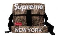 NEW YORK x SUPREME バッグ ショルダー ニューヨーク x シュプリーム ネイビー 品質保証高品質 メンズ ショルダーバッグ.