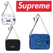 SUPREME コピー品 白 黒 青 3色 スター シュプリーム ボックスロゴ 発売 驚きの破格値大人気なメンズショルダーバッグ.