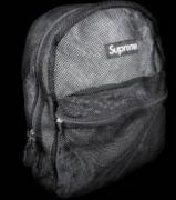 数量限定大得価 シュプリーム メンズ アウトドア リュック SUPREME バックパック ブラック ナイロン カバン.