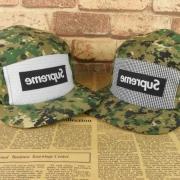 品質保証2017シュプリーム帽子新作コットンキャップSUPREME CAP 偽物ボックスロゴカモフラージュ2色可選