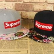 素敵なシュプリーム帽子新作BOX LOGO CAP SUPREME コピー商品ニューエラキャップ花柄ツバファッションショー