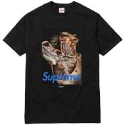シュプリーム SUPREME x UNDERCOVER アンダーカバー Anatomy Tee Tシャツ 半袖 プリント ブラック ホワイト