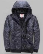 シュプリーム SUPREME 17AW メンズ ヌプシダウンジャケット ネイビー スター 秋冬 品質保証100%新品.