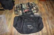シュプリーム ボストンバッグ SUPREME 17SS Duffle bag ダッフル コーデュラナイロン ショルダー 黒 迷彩 メンズ.