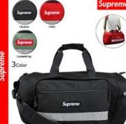 最安値人気なシュプリーム 偽物 SUPREME 17SS Box Logo ボストンバッグ レッド ブラック レッド グリーン3色 男女兼用.