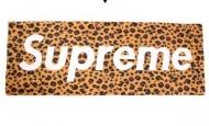 肌触り抜群SUPREME コピー商品 ブランケットシュプリームボックスロゴ毛布ヒョウ柄