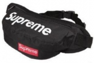 SUPREME ウエストバッグ 多機能 シュプリーム ウエストポーチ ヒップバッグ 防水 メンズ ランニンニング ショルダーバッグ ブラック.