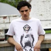 人気セール新作 シュプリーム ナイキ NIKE×SUPREME tシャツ コピー コットン 半袖 ホワイトプリント tシャツ
