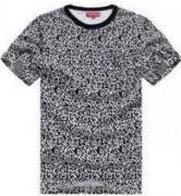 人気セール新作 SUPREME シュプリーム 偽物 半袖Tシャツ メンズ ヒョウ柄 ホワイト グレー 2色 コットン.