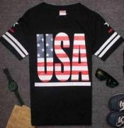 着心地が良いコットン素材 SUPREME USA シュプリーム メンズ 半袖Tシャツ ホワイト ブラック ダークブルー 3色.