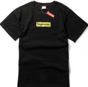 SUPREME シュプリーム メンズ半袖Tシャツ ブラック ホワイト グレー 3色 男女兼用 人気定番品質保証 コットン.