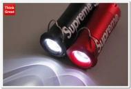 超高輝度LED 懐中電灯激安シュプリーム通販超小型・軽量SUPREME防犯 キャンプ アウトドア 夜釣りライト