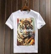 ホワイト グレー ブラック メンズ SUPREME 虎プリント シュプリーム 半袖Tシャツ 品質保証高品質 コットン 生地.