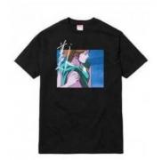 人気一番なシュプリーム Maeda Toshio SUPREME × 前田 俊夫 -OVERFIEND TOUCH tシャツ コットン生地 黒、白、グレー.
