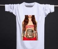 個性派シュプリームアンダーカバー魔女T SUPREME ボックスロゴTシャツ偽物プリント長袖2色可選