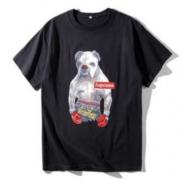 シュプリーム tシャツ偽物 SUPREME 男女兼用 ホワイト、ブラック、グレー3色可選 コットン生地 半袖