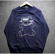シュプリーム SUPREME×UNDERCOVER 18SS Bear Tee ベア&ボックスロゴ パーカー グレー、ブラック、ダークブルー.