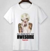 シュプリーム SUPREME Tシャツ サイズ 半袖 コットン生地 ストリート 男女兼用 ホワイト、グレー2色選択.