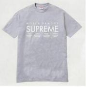 SUPREME World famous Tee シュプリーム Tシャツ 半袖 サイズ メンズ グレー コットン生地 ストリート.