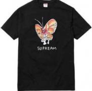 シュプリーム×MARK GONZALES SUPREME Gonz Butterfly Tee バタフライ Tシャツ ブラック、ホワイト、グレー.