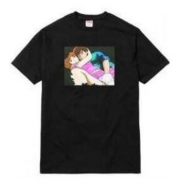 SUPREME シュプリーム×前田俊夫 イラストグラフィックTシャツ Overfiend Date Tee 男女兼用 4色選択.