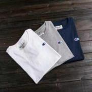 シュプリーム Champion SUPREME チャンピオン ホワイト、グレー、ネイビー3色選択 半袖 Tシャツ 男女兼用.