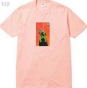 シュプリーム tシャツ サイズ感 SUPREME Tシャツ 半袖 コピー 黒、白、ピンク、グレー4色選択 男女兼用.