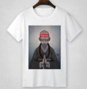 シュプリーム Tシャツ 半袖 SUPREME コピー品 ホワイト、グレー2色選択 メンズトップス 100%コットン.