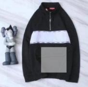 シュプリーム パーカー コーデ SUPREME サイズ感 ブラック、グリーン、ピンク3色選択 男女兼用 コットン.
