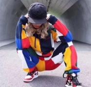 耐久性に優れ 2017秋冬 風合いの出る Supreme 17FW Patchwork Hooded Sweatshirt