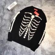 ◆モデル愛用◆  Supreme Bones Sweater 驚きの破格値品質保証 サイズ豊富2017秋冬