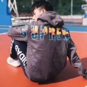 2017秋冬スタイルアップ効果Supreme 17FW Crash Hoodie 3色可選 驚きの破格値得価