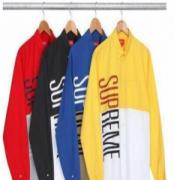 HOT豊富な人気新作 SUPREME コピー シュプリーム シャツ サイズ感や着き心地 最高 メンズシャツ SUPREM 英字 ボックスロゴ 上品