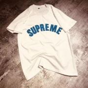 シンプルなブルーsupremeロゴ Tシャツ ブランド シュプリーム メンズ レディースカップル コットン ブラック ホワイト