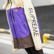 個性的な風着!2色展開  パープル Supreme パーカー レディース メンズ おしゃれシュプリーム 通販 激安コー デカジュアル