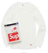 SUPREMEおしゃれアイテムシュプリームコピー男女兼用クルーネックコットン長袖tシャツ