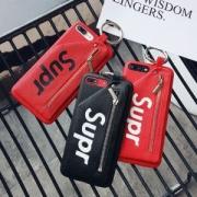 超お買い得!SUPREMEシュプリームスーパーコピーブランドロゴレザーiPhoneケース多色可選択男女兼用